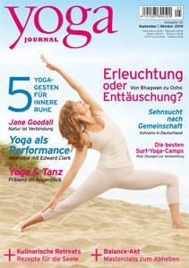 Yoga Journal September Oktober 2010