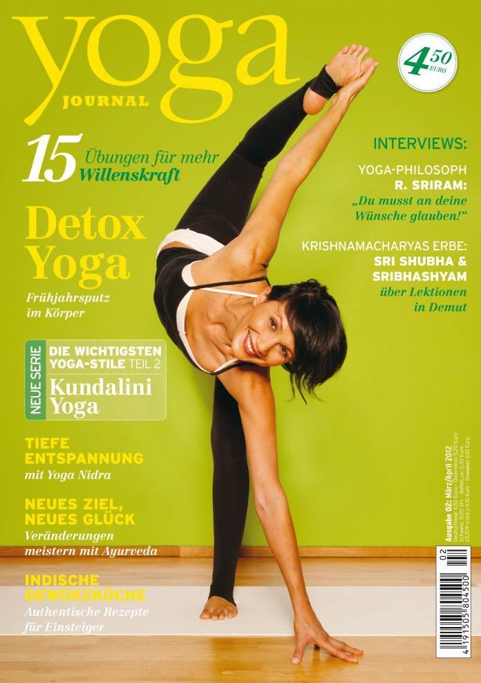 Das Magazin März April 2012 Yoga Journal