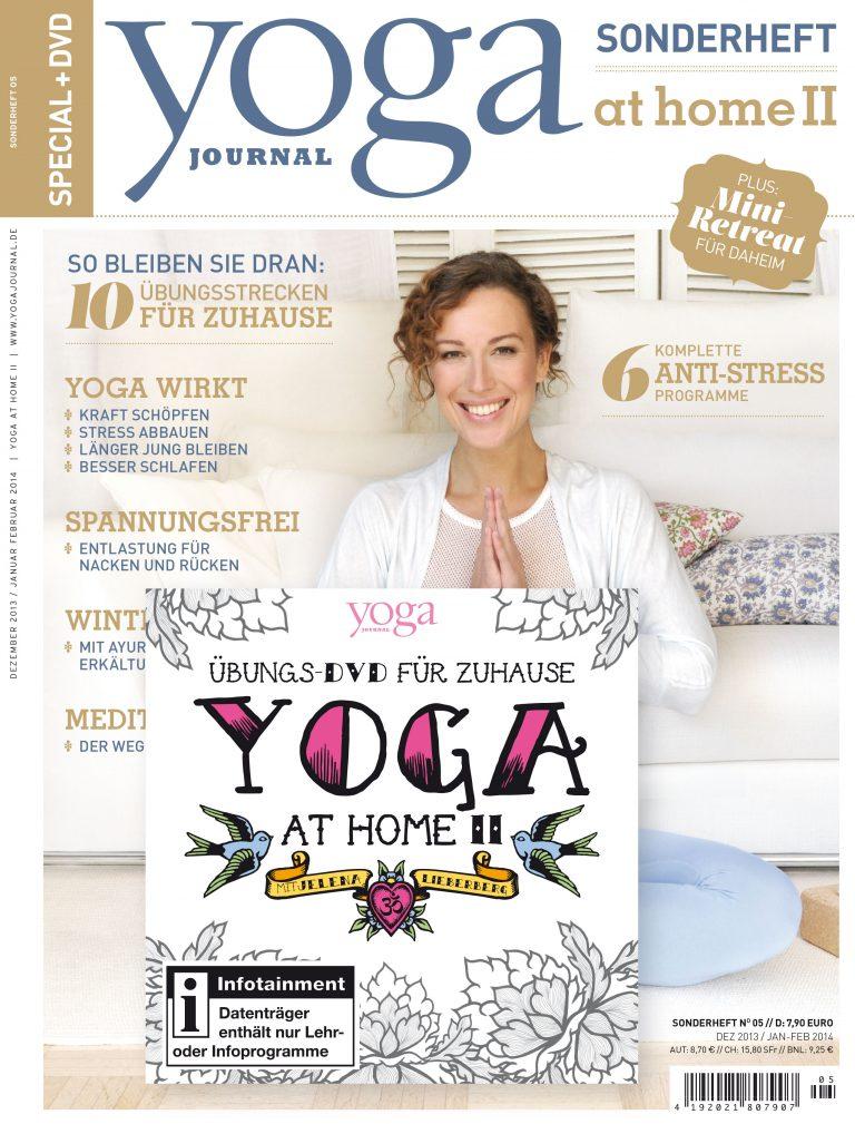 "Jetzt im Handel: Sonderheft ""Yoga At Home II"""