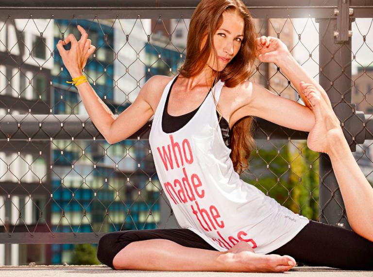 Tara Stiles über Strala Yoga und ihre Freundin Tao Porchon-Lynch