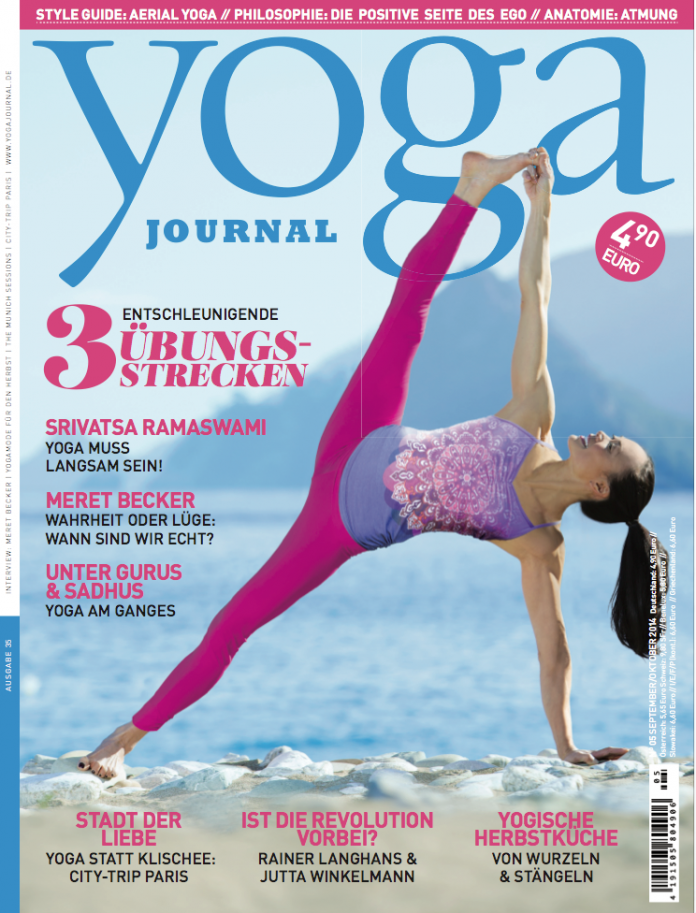Das Magazin September Oktober 2014 Yoga World Home Of Yoga