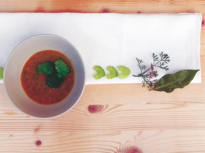 wintersuppe rezept kürbis ayureveda kochen gesund brokkolie