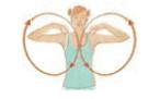 Ellbogen aufwärmen Yoga Gelenke