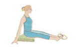 Knöchel  aufwärmen Yoga Gelenke