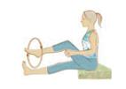 Knie aufwärmen Yoga Gelenke