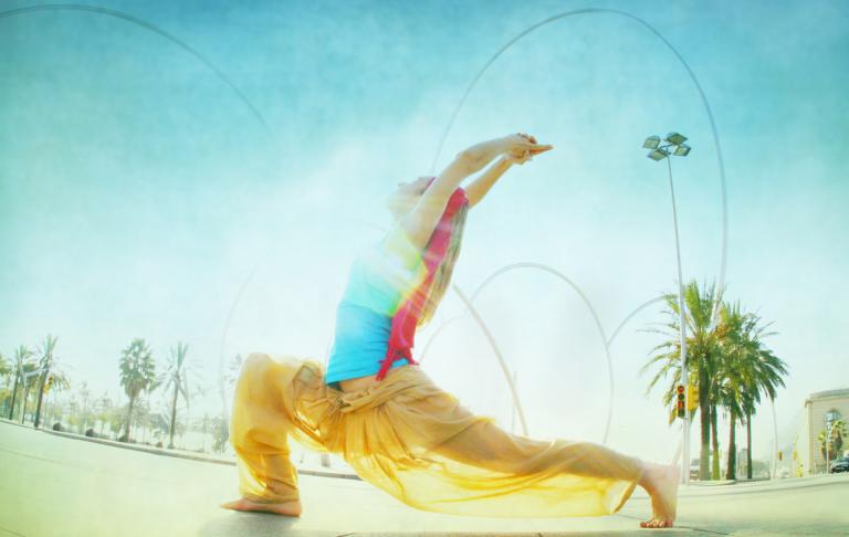 """Yoga """"Mini Practice"""" für einen energetischen Start in den Tag"""