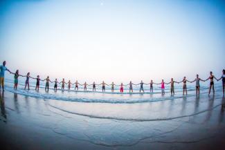 Wari Om Photoshelter Welt Yoga Tag