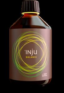 """Wir verlosen 3 Flaschen """"Inju Balance""""."""