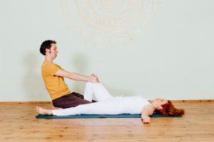 3. Bauch- und Psoas-Stretch