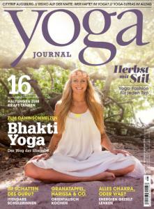 Yoga Journal Ausgabe 41 Herbst 2015