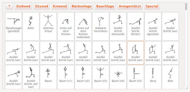 Yogastunde einfach online erstellen