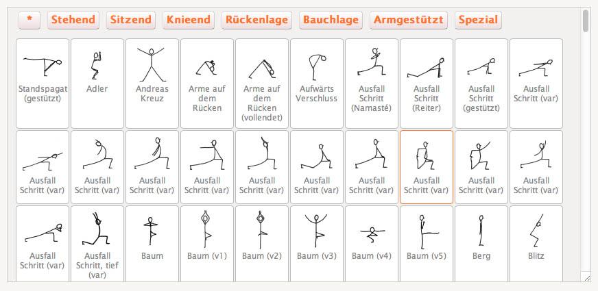 yoga strichmännchen