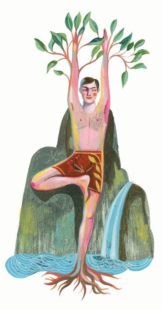 Yogaübungen Inspiration Baum