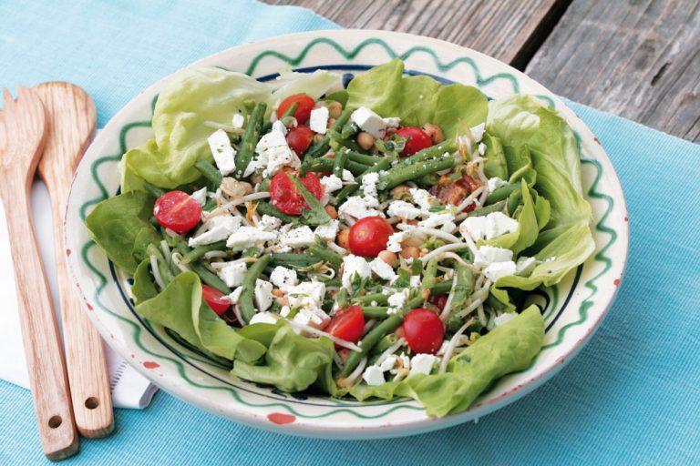 Rezept-Tipp: Sommerlicher Bohnensalat