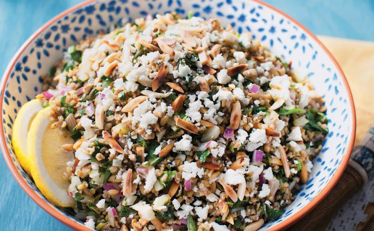 Rezept-Tipp: Grünkern-Salat