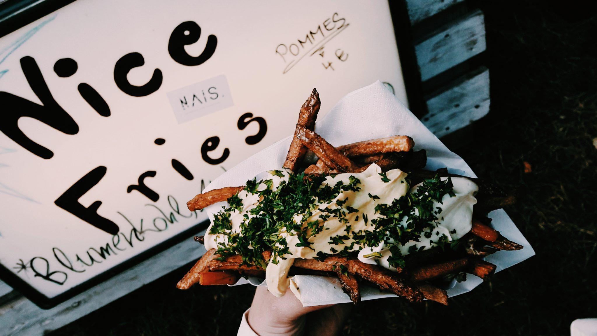 Nice Fries aus gesundem Gemüse und leckeren Dips