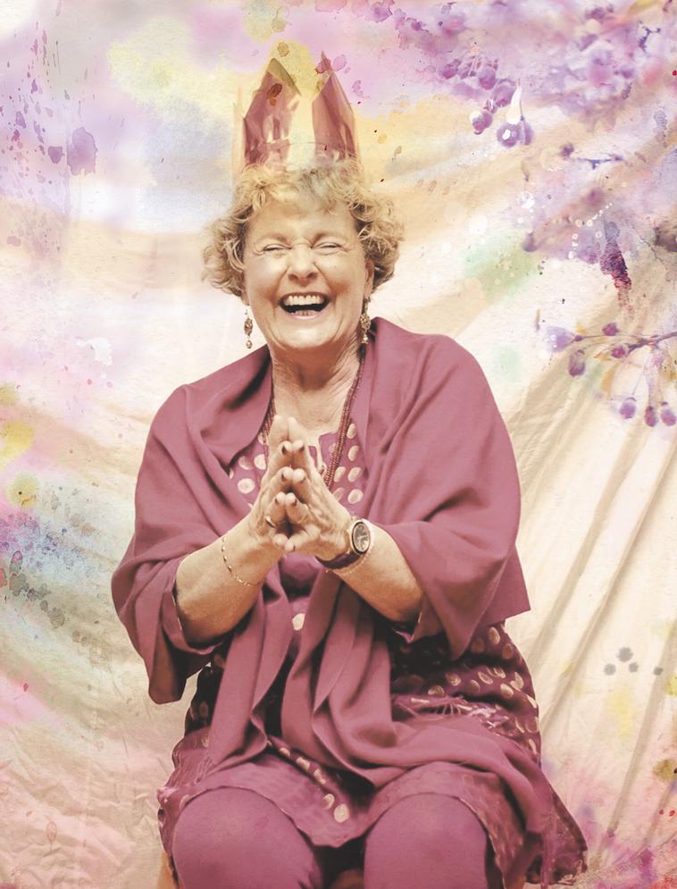 Nichts ist in Stein gemeißelt – Yoga-Pionierin Anna Trökes