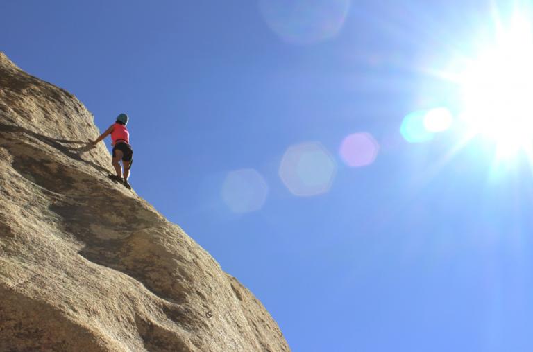 Yoga und Klettern: Zum Gipfel der Erleuchtung