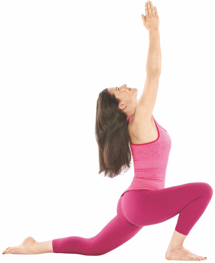 Weltyogatag Yoga Praxis Anjaneyasana