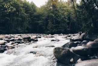 Fluss steht für Wandel