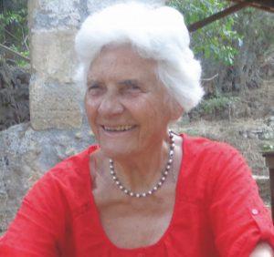 Yogapionierin Ursula Lyon Portrait