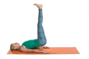 Detox Yoga Sequenz/ Salamba Sarvangasana - Unterstützer Schulterstand, Variation
