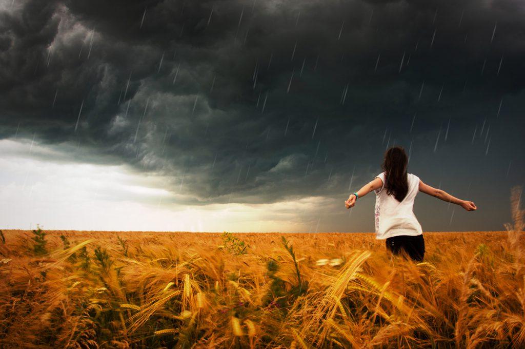 An Niederschlägen können wir wachsen