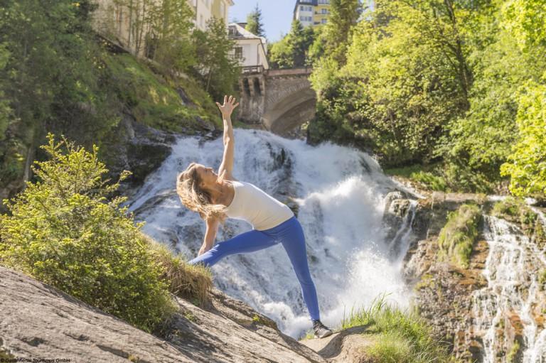 4 außergewöhnliche Orte für Outdoor Yoga in Gastein