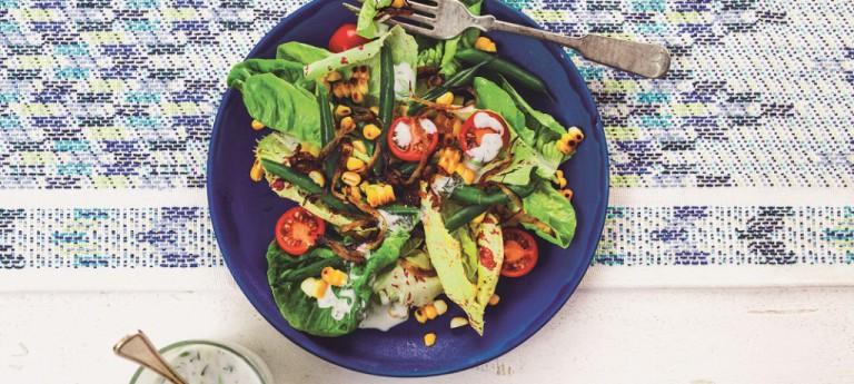 Potluck-Party im Garten – Sommersalat Rezept