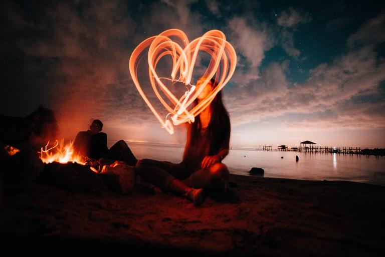 Montags-Mantra: Feuer im Herzen