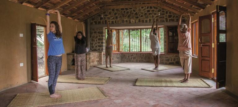 Yoga am Ursprung