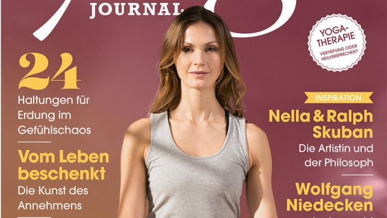 Jetzt im Kiosk: Die neue YOGA JOURNAL-Ausgabe