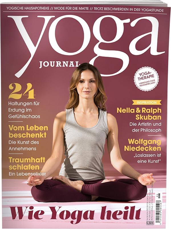 Yoga Journal Nr 54 0617 Novemberdezember 2017 Yoga World
