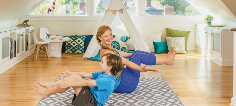 Kinder Yoga: Üben mit den Kleinen Mini – Practice