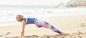 Brett rückwärts Stand Yogaworld