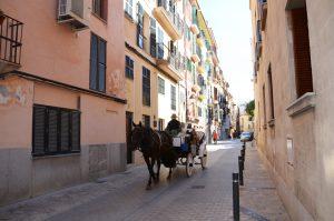 In der Altstadt Palmas
