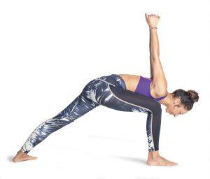 dynamischer Krieger 1 Yogaworld