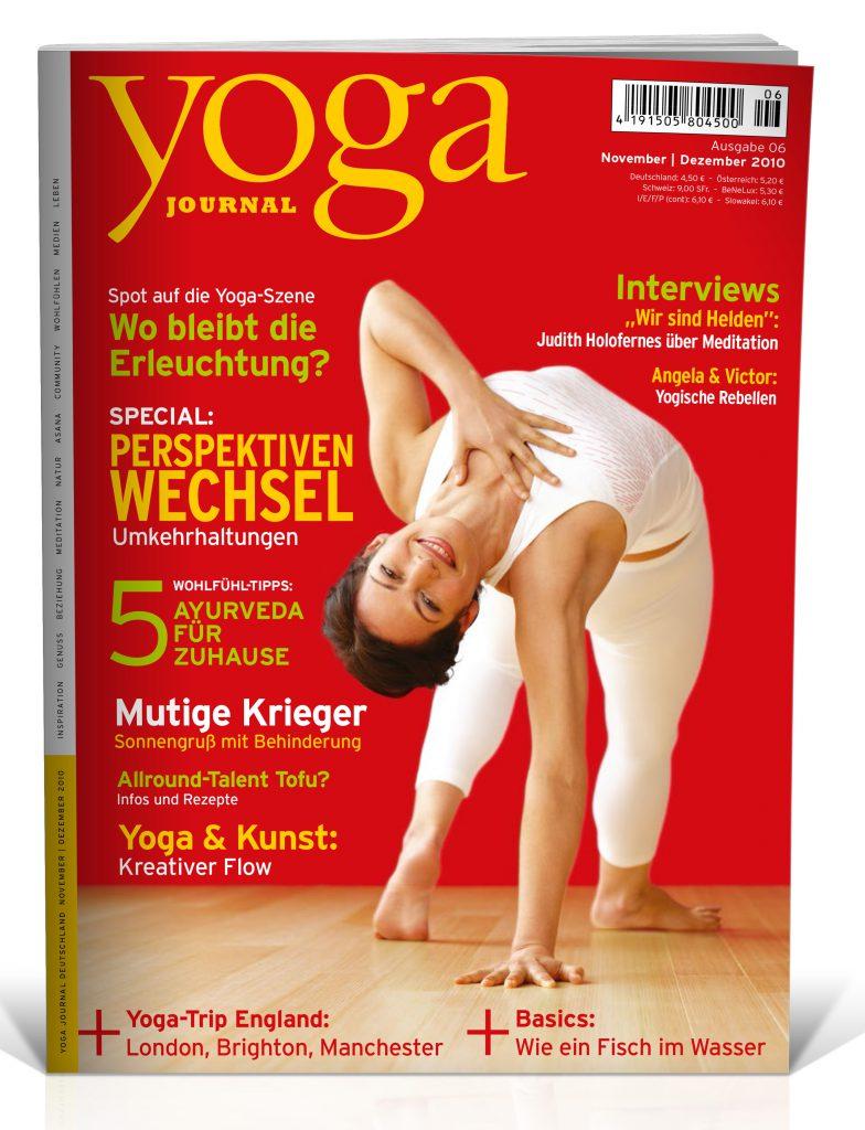 Yoga Journal Nr 12 062010 Novemberdezember 2010 Yoga World