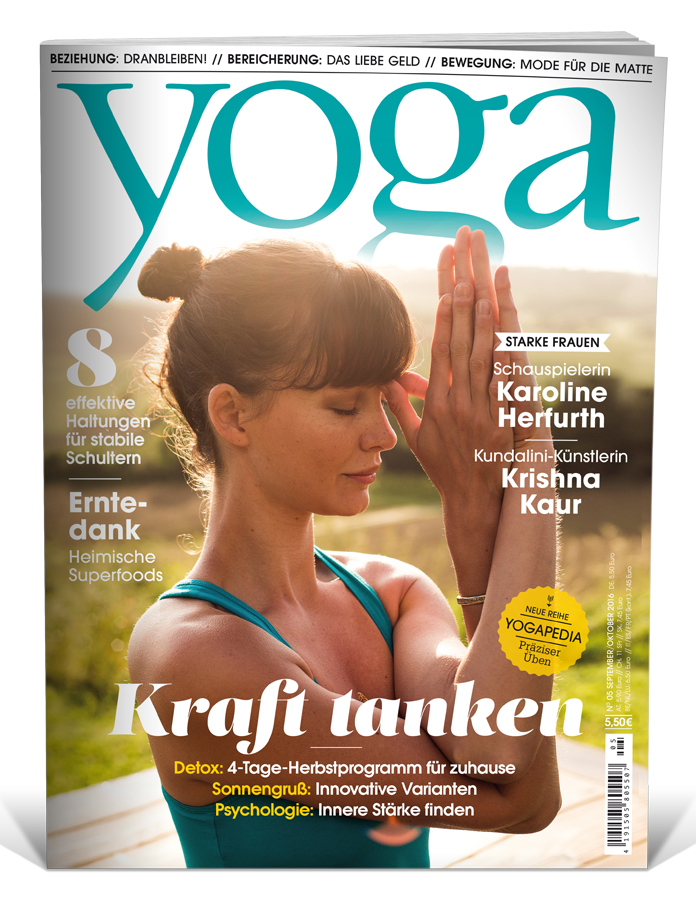 Yoga Journal Nr 47 0516 Septemberoktober 2016 Yoga World