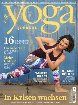 Cover Yoga Journal Deutschland Nr. 59