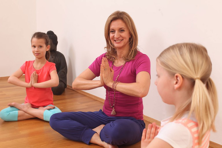 KinderYoga auf der YogaWorld