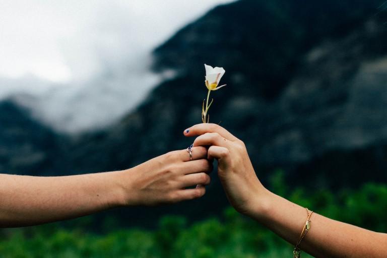 Montags-Mantra: Die Kraft des Gebens