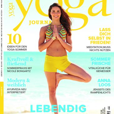 Cover Yoga Journal Ausgabe 64 Juli/August