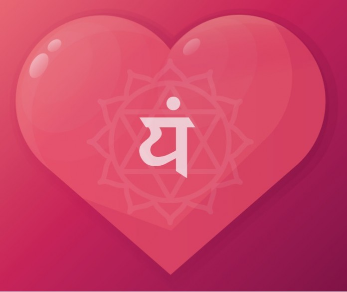 Rolle Yoga für das Herz