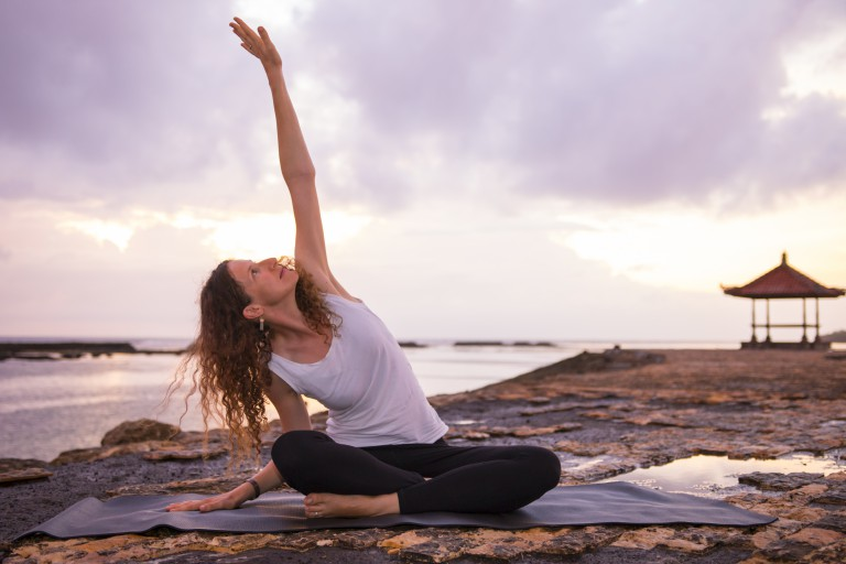 Online-Yoga: Wir testen LIA`s YOGAMAT.