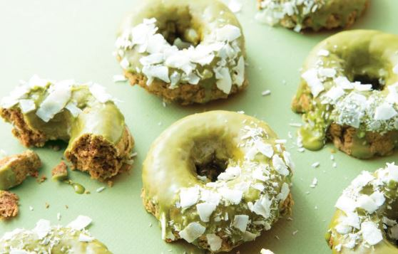 Lieblingsrezept Sadie Nardini: Matcha-Donuts