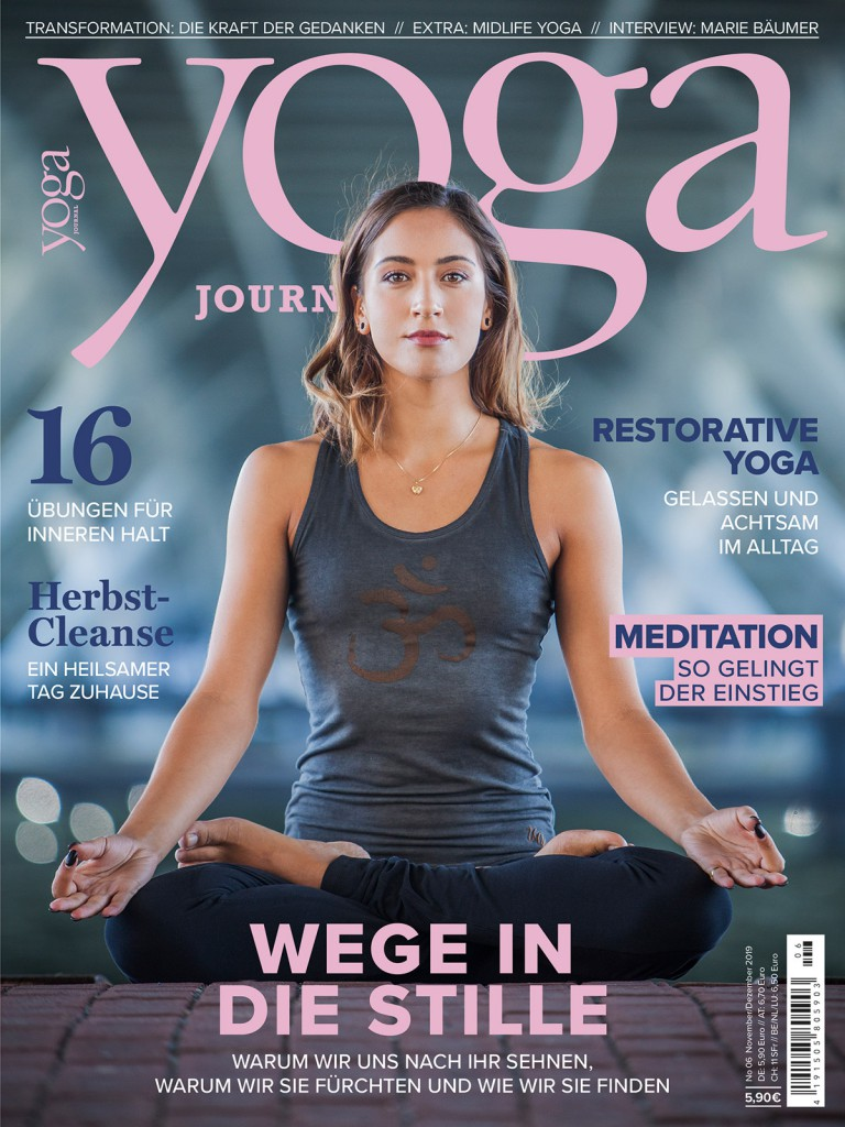 Yoga Journal Cover Ausgabe 6/19