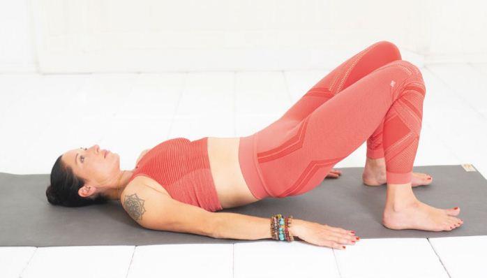 Yoga unterer Rücken