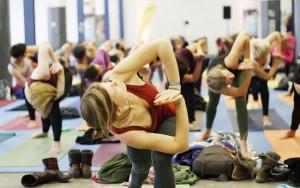 Messe Yogaworld Yoga Workshop
