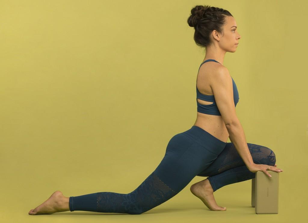 Ausfallschritt Amiena Zylla Yoga